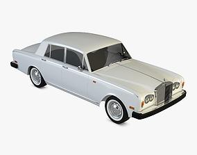 3D Rolls Royce Silver Shadow