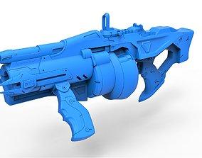 Gun of Baptiste Talon from the game 3D printable model 1