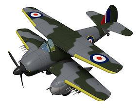 3D model Boulton Paul P101