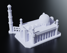 Almaty Central Mosque 3D print model