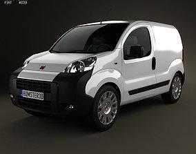 3D model Fiat Fiorino Panel Van 2011