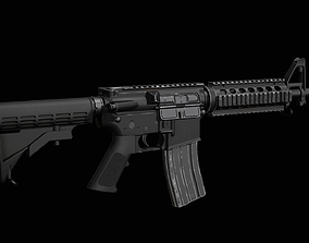 M4-SBR 3D model game-ready