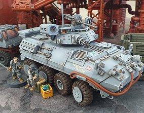 Light Armored Vehicle - 28mm Sci-Fi 3D printable model