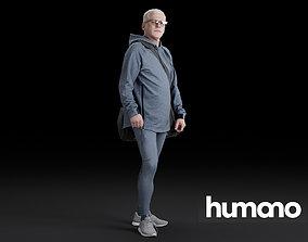 Humano Running Man 0810 3D model