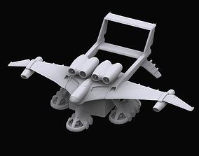 Gundam EF Medea model 3D