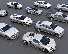 Racing Vehicles Pack 2 3D asset