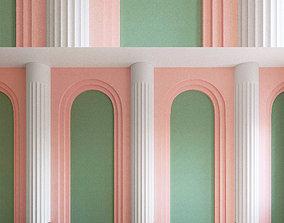 3D Wall Panel Set 109