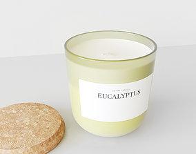 3D Aroma Candle Eucalyptus