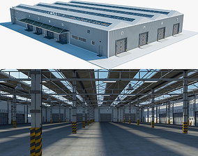 Warehouse Logistic 3 interior and exterior 3D