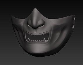 3D model Shogun Mask 3rd SubDiv