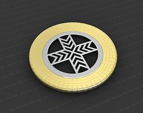 Cross Medallion 3D print model worship
