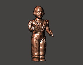 Irwin MAN from Mars space toy figure 3D print model