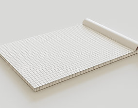 personal 3D asset low-poly Notebook