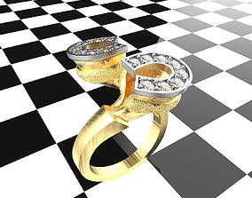 3D printable model horsering horse ring
