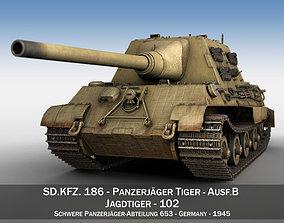 3D SDKFZ 186 Jagdtiger - 102 - Porsche Production