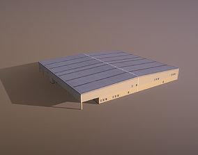 Airport LIRN Storage2 Naples International 3D asset