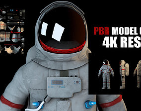 VR Astronaut with PBR material 3D model