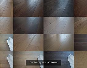 3D model Oak Flooring set 2