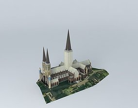 lincoln cathedral 3D