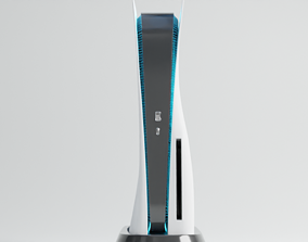 3D ps5 console