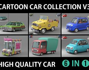 3D model Cartoon Car Collection V3