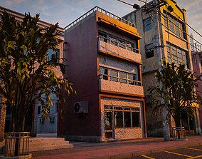 3D model UILDING URBAN AREA HONGKONG JAPAN CHINA ASIAN 03