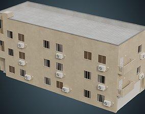 3D asset VR / AR ready Building 6A