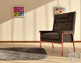 3D model Armchair 4