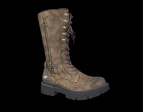 Mustang Platform high boot 3D model