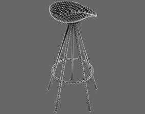 Dwr Jamaica Aluminium Barstool 3D model