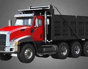 CT660 Truck - Tri-Axle Dump Truck 3D