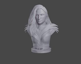 3D print model Wonder Woman 1984 bust