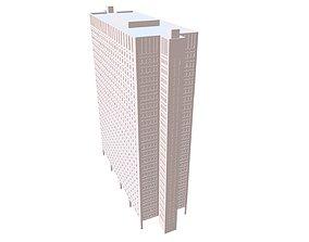 3D model Skyscraper bulding