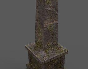 3D model Tombstone Type 2