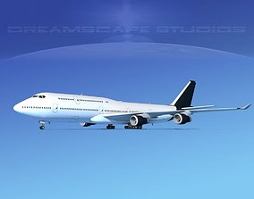 3D model Boeing 747-8I Corporate 4