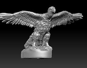 eagle figure on the hood 3D print model