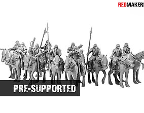Death squad Cavalry of Imperial force 3D printable model