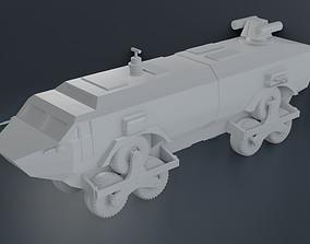 3D printable model landmaster damnation alley