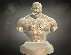 Venom figure for 3d printing character