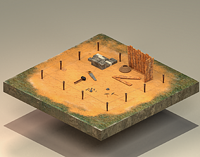 Building Foundation 4 3D model