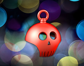 3D printable model Skull Christmassball