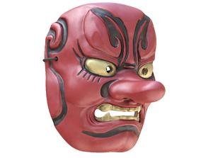 Japanese Mask Tengu Gigaku 3D model