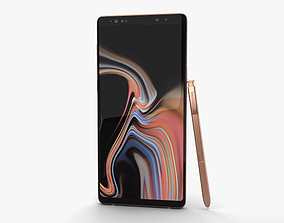 3D galaxy Samsung Galaxy Note 9 Metallic Copper