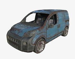 3D Abandoned Car 11