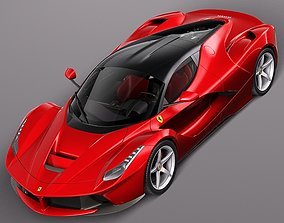 Ferrari LaFerrari 2014 tuning 3D