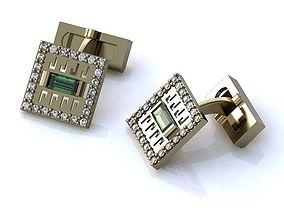 Cufflinks BZ005 3D