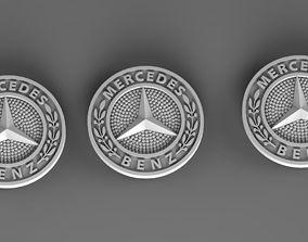 mercedes 3D print model
