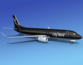 Boeing 737-800 City Bird 3D model