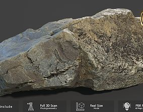 3D asset Mountain Rock Scan A