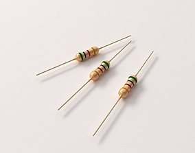 Resistor 3D model